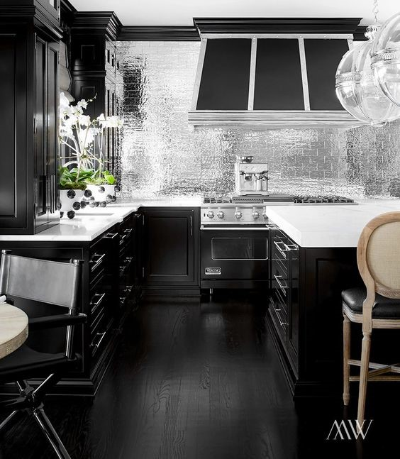 metallic-kitchen-trends-2017